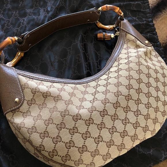 f556f79af12cef Gucci Bags   Bamboo Hobo Bag New   Poshmark
